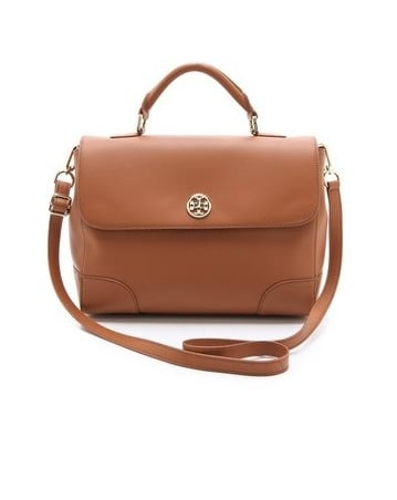 This go-with-everything satchel from Tory Burch ($413, originally $550) is a smart addition to your closet, we promise.