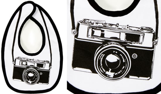 Camera Bib For Baby From Fred Flare