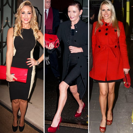 Trendy Red Clutch Bags for Spring 2012