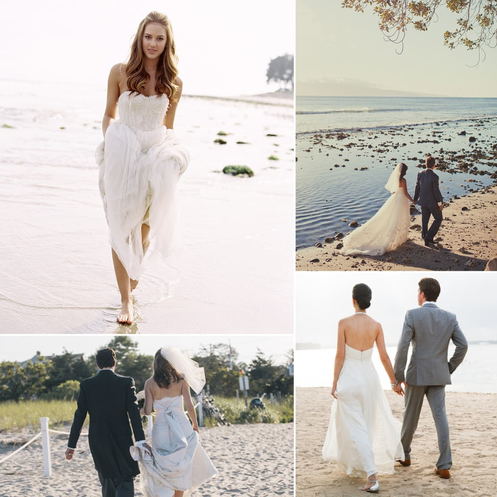 Draw inspiration from the most gorgeous beach wedding for Gorgeous beach wedding dresses