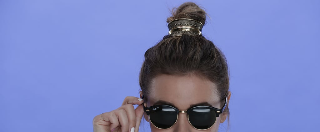 The Trick to Securing a Bun Cuff to Your Hair Is Actually This Simple
