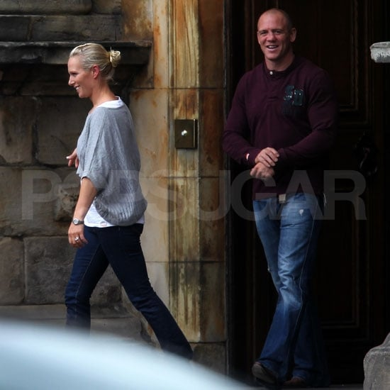 Zara Phillips and Mike Tindall Emerge as Husband and Wife After an Epic Party!