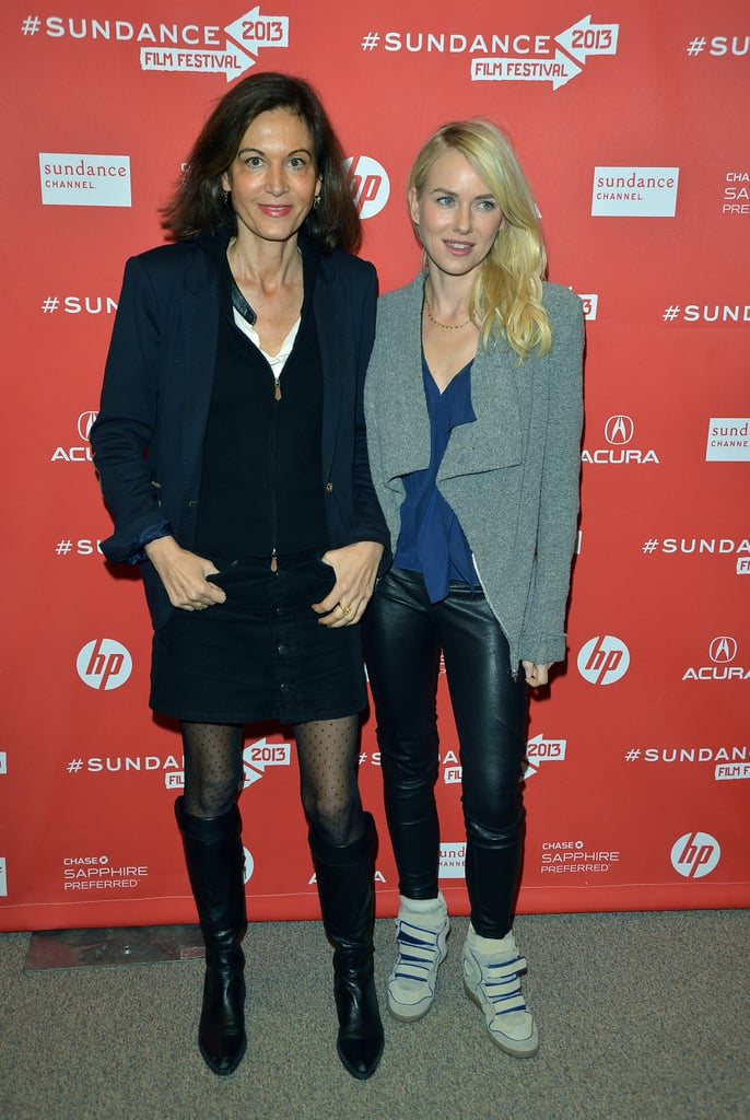 Naomi Watts posed for photos with Anne Fontaine.