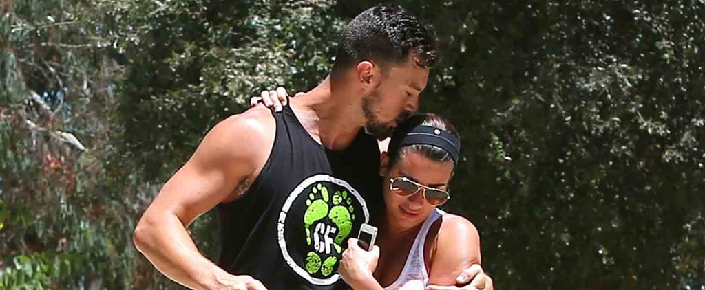Lea Michele and Her Boyfriend Can't Keep Their Hands Off Each Other