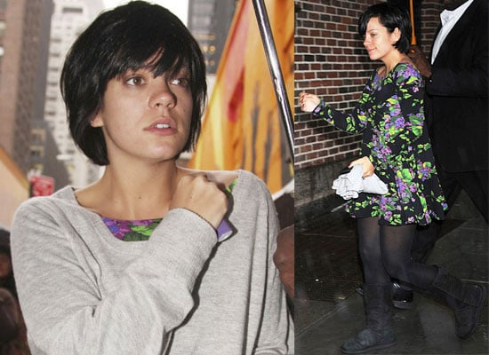 Photos of Lily Allen Out In New York, Video Clip Of Her Interview On The View