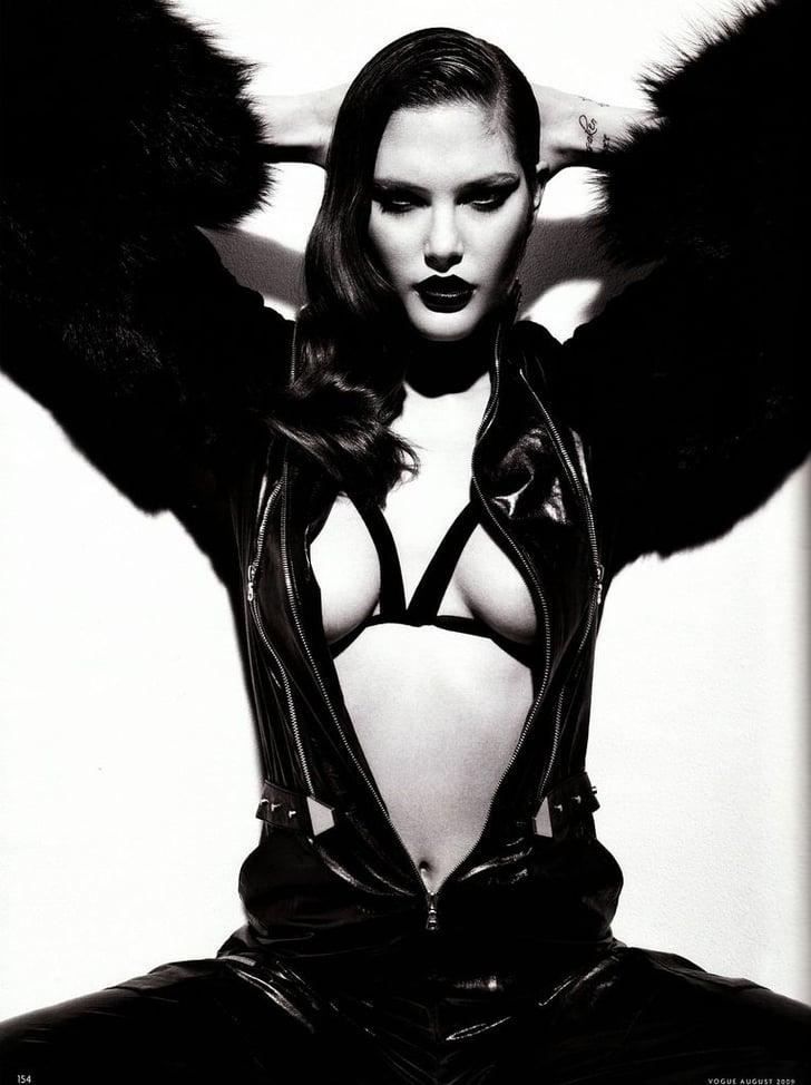 Girls on Film: Catherine McNeil, Vogue Germany, Aug. '09