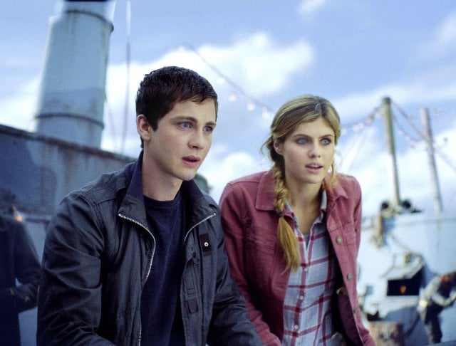 Percy Jackson: Sea of Monsters   Who's starring: Logan Lerman and Alexandra Daddario Why we're interested: In this sequel, Percy (Lerman) and his half-blood crew head to a sea of scary monsters, bringing Rick Riordan's popular YA book to the big screen in 3D. When it opens: Aug. 7 Watch the trailer for Percy Jackson: Sea of Monsters.