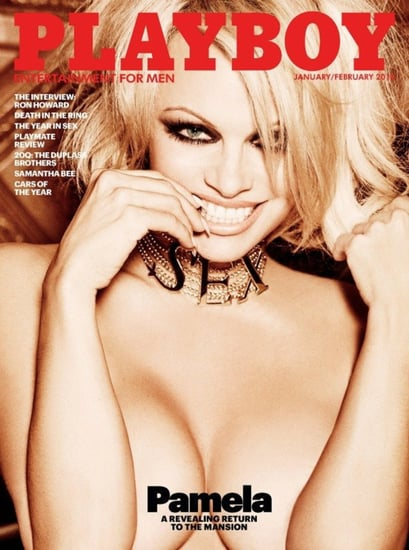 Pamela Anderson Bares It All For Playboy's Final Nude Issue