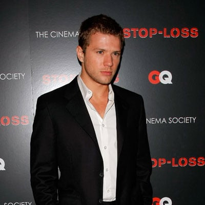 Ryan Phillippe at a Stop-Loss Screening