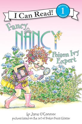 Texts and Tunes: Fancy Nancy Poison Ivy Expert