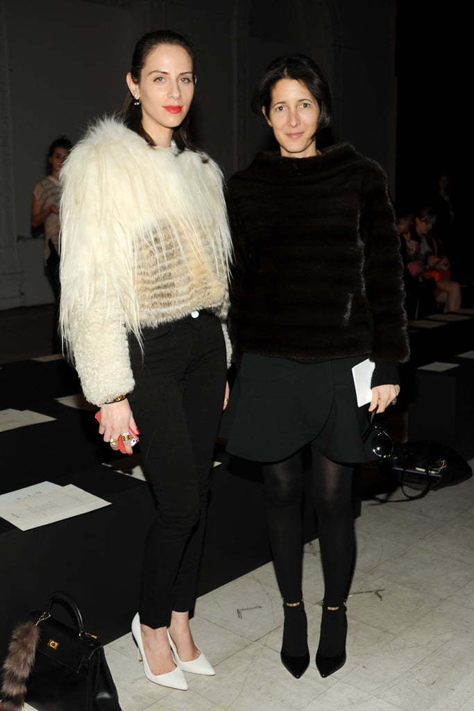Dalia Oberlander and Amanda Ross