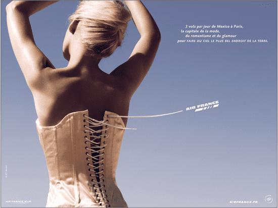 Air France's Racy Travel Ad