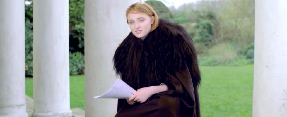 Watch Sophie Turner Recite Adele Lyrics With the BEST Jon Snow Impression
