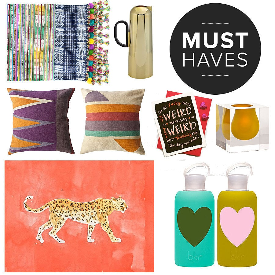 Love is in the air — and nothing makes the heart skip a beat like unearthing fresh design finds. Whether it's an indulgent addition to your morning coffee routine or the discovery of the perfect watercolor to frame, the February must-have picks from POPSUGAR Home are definitely lust-worthy!