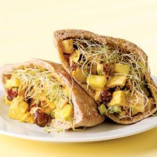 Curried Chicken Pita Recipe