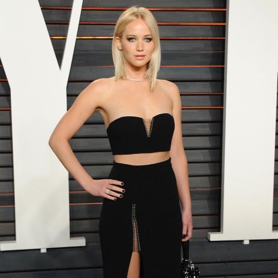 Jennifer Lawrence's Dress at Vanity Fair Oscars Party 2016