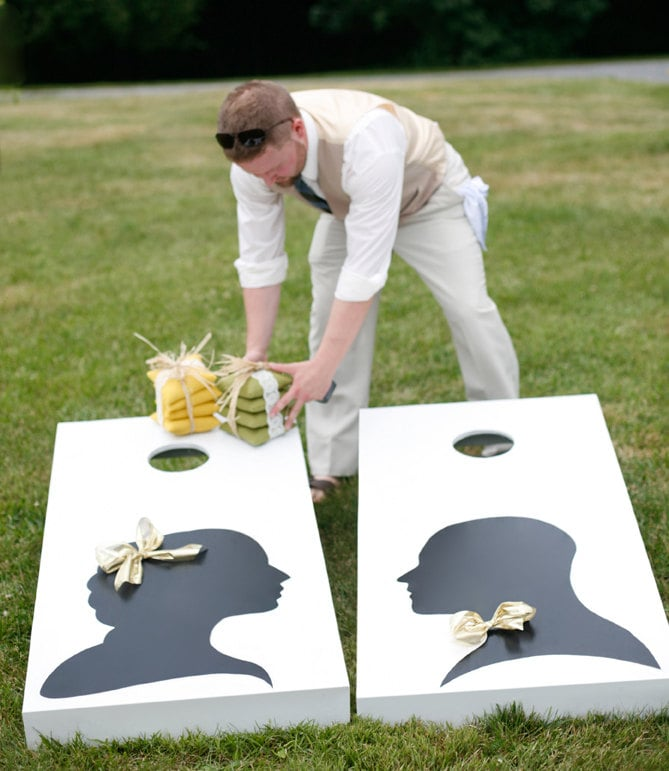 Set Up a Corntoss Game