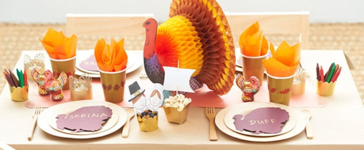 How to Have the Cutest Kids' Table This Thanksgiving