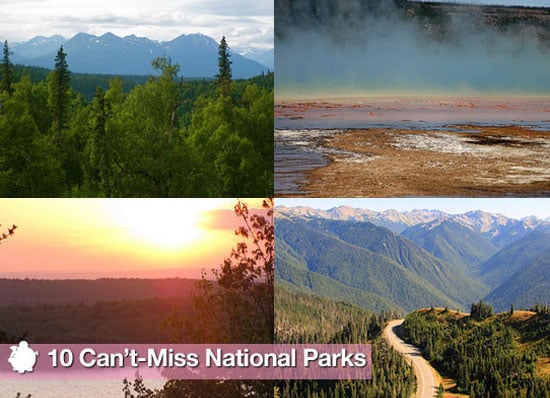 Sugar Shout Out: 10 National Parks You Can't Miss