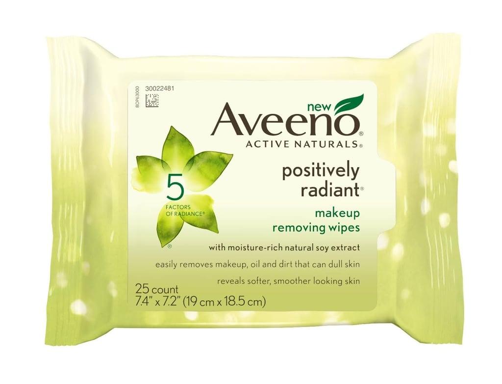 Aveeno Positively Radiant Makeup Wipes