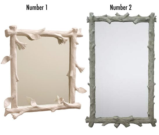 Less or More: Faux Bois Mirrors