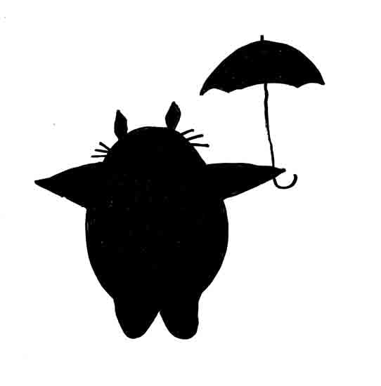 Totoro by Kathy P.