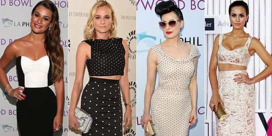 The Stars On This Week's Best Dressed List Wore Black And White And Were Fab All Over