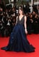 Milla Jovovich made a dramatic entrance at the All Is Lost showing in Cannes on Wednesday.