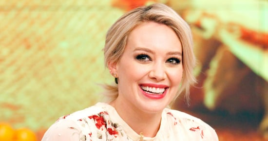 Hilary Duff Reveals Her Cheat Food!