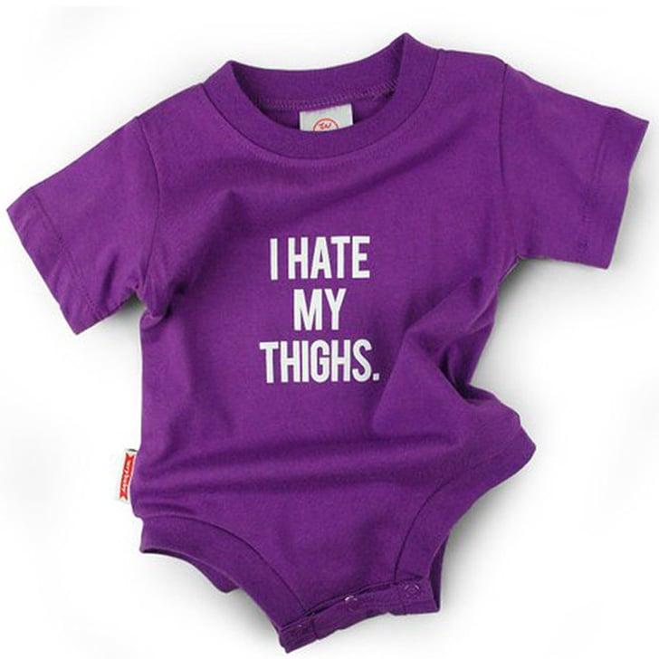 hate thighs onesies