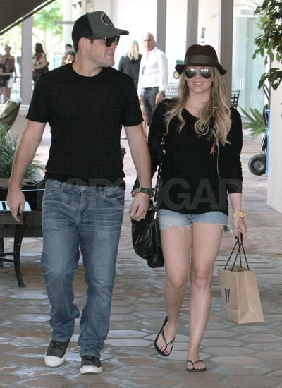Hilary Duff and Mike Comrie are expecting their first baby together.