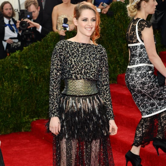 Kristen Stewart in Chanel at 2014 Met Gala
