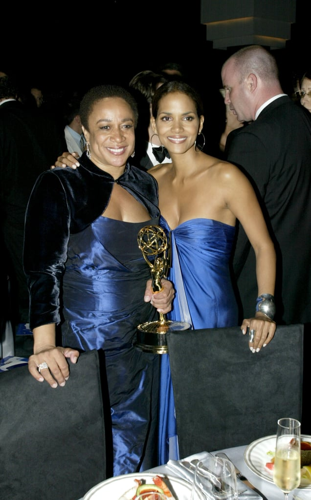 Halle Berry and S. Epatha Merkerson stepped out in similar shades of blue for the 2005 ceremony.