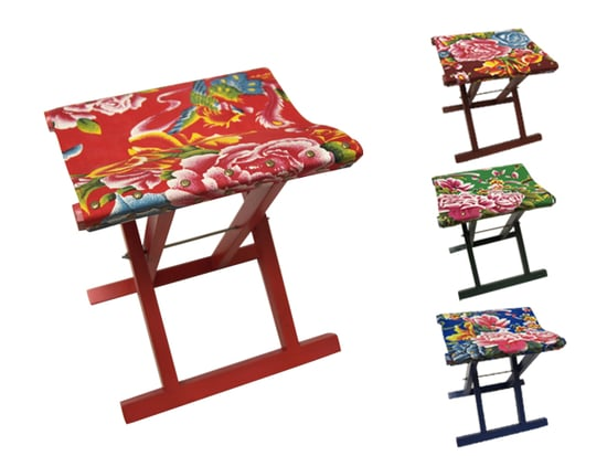 Steal of the Day: Pearl River Oilcloth Stool