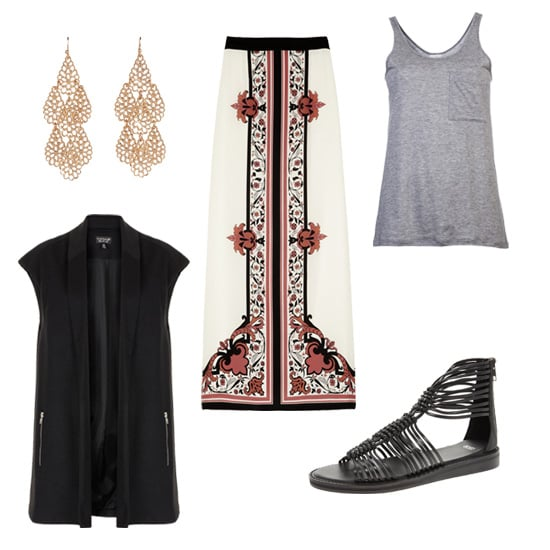 How to Wear a Vest For Spring 2013