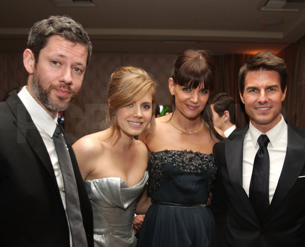 Tom Cruise, Katie Holmes, Amy Adams, and Darren Le Gallo