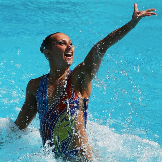 Olympic Synchronized Swimmers' Hair Tips