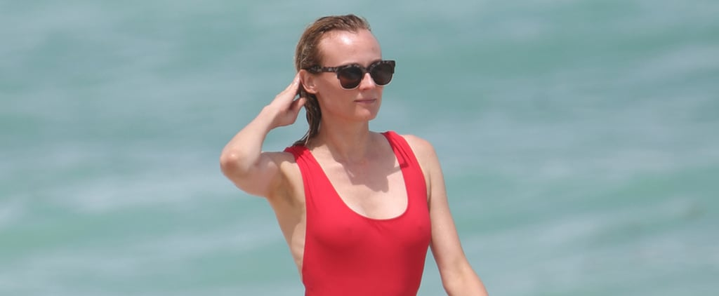 Diane Kruger's Swimsuit Will Remind You of One Very Famous Show