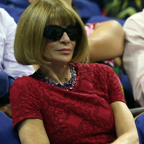 Anna Wintour at the US Open