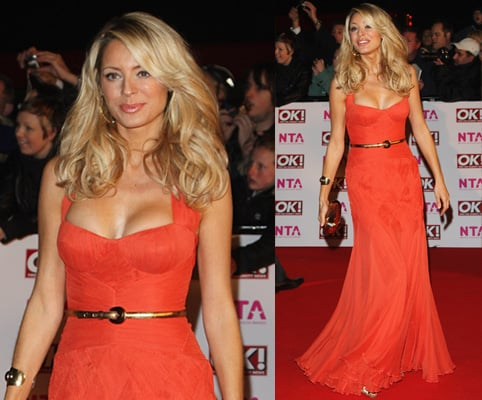 Tess Daly, Temperley London, 2008 National Television Awards,