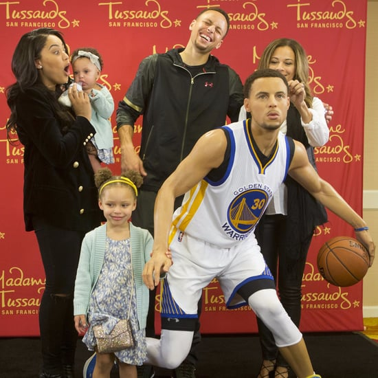 Steph Curry Wax Figure Debut March 2016