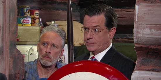 Jon Stewart And Stephen Colbert Bring Back 'The Colbert Report'