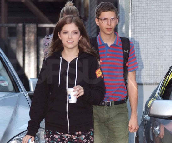 Slide Picture of Anna Kendrick and Michael Cera  in London