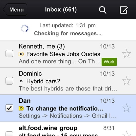 Gmail App For iPhone and iPad