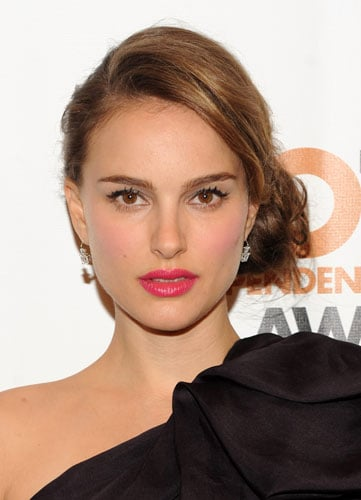 Natalie Portman's Hot Pink Lipstick at the 2010 Gotham Independent Film Awards