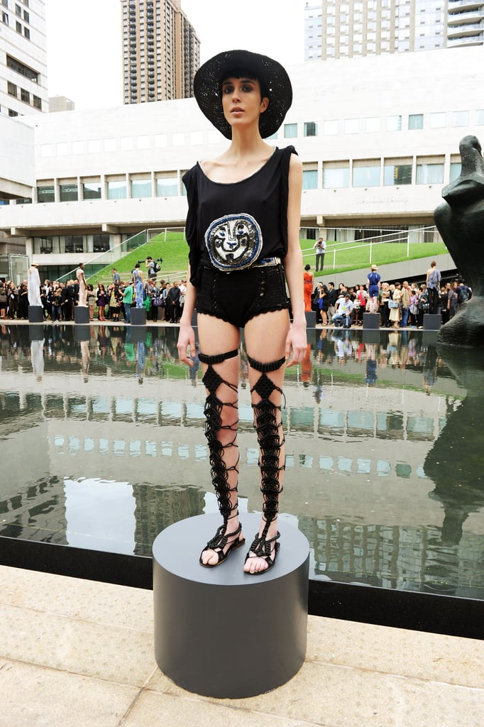 2011 Spring New York Fashion Week: Catherine Malandrino