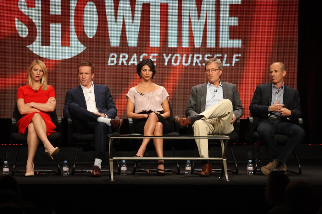 The cast of Homeland talked about their show at the TCAs.