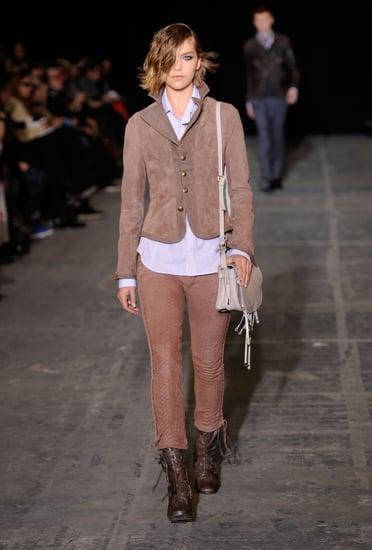 Fall 2011 New York Fashion Week: Diesel Black Gold