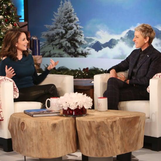 Tina Fey on The Ellen DeGeneres Show December 2015