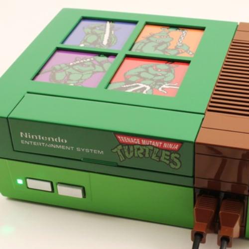 Custom Teenage Mutant Ninja Turtle Nintendo
